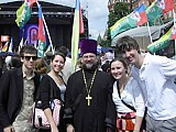 ROCOR youth at 'Faith & Deeds'<br>Forum in Moscow. May,2010