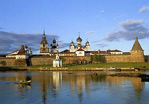 Solovetzky monastery <br>credits www.museum.ru