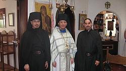 Schema-Hegumen Nektariy <br/>and brethren