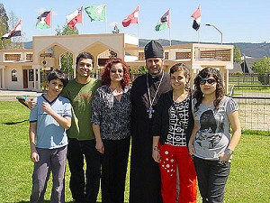 Fr. Alexei Aedo Vilugron and his family