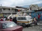 Rescue operation in Haiti.