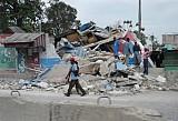 Scenes of devastation in Haiti.