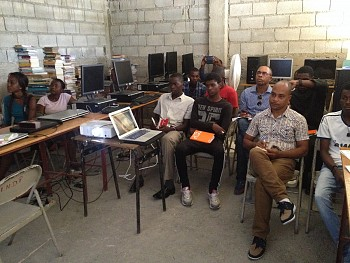 Thanks to donors like you, our brothers and sisters in Haiti received training that gave them real skills to combat poverty.