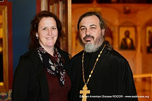Fr Mark and matushka Mancuso