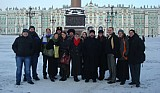 ROCOR youth group in<br>St. Petersburg, Russia January 2010