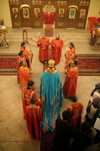 Liturgy during the conference.