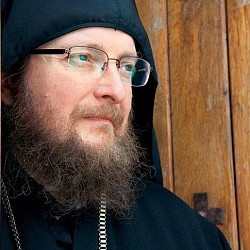 Archimandrite Sava, Abbot of the Decani Monastery.