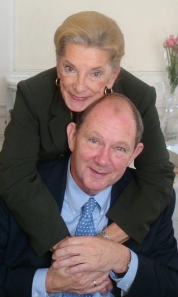 Prince Vladimir Galitzine with his wife Tatiana.