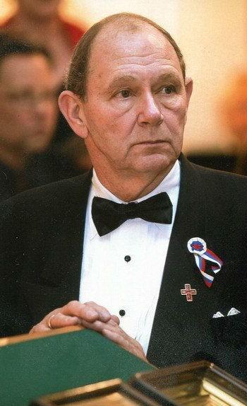 First FFA President Vladimir Galitzine