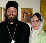 Fr. Demetrios Haper<br>with wife Marina