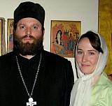 Fr. Demetrios Haper<br>with wife Marina