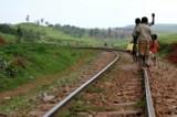 Children in Uganda walk<br>miles to get fresh water.