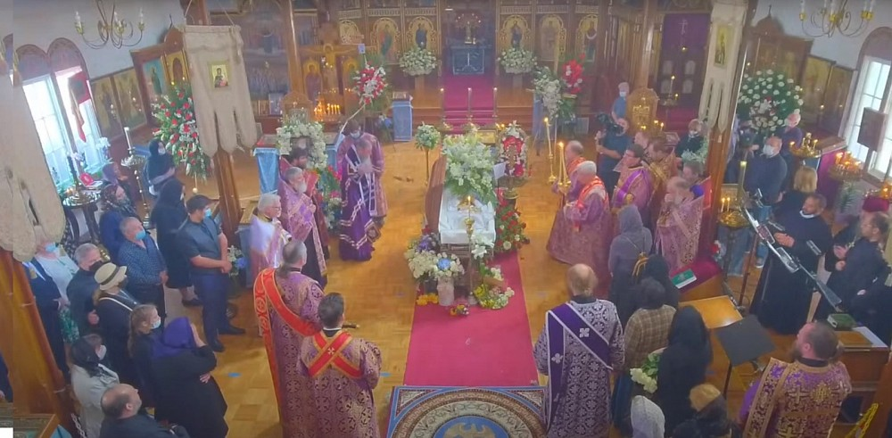 Fr. Viktor's funeral was held at Holy Protection Church on April 8, 2021.